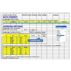 3.laboratorijas darbs. Datu ievads, formats, datu analize.