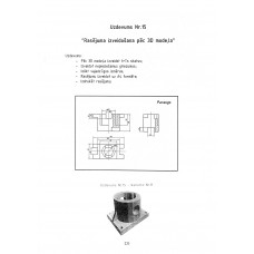 AutoCAD, uzdevums Nr.15, 11. variants