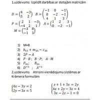 Matricas