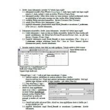 Lab 9,  Excel, Dažādi