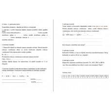 11. klase, 6. pārbaudes darbs, Nemetālisko elementu –slāpekļa un fosfora savienojumi