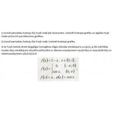 Furjē rindas, stīgas svārstību vienādojums