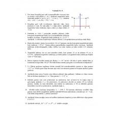 Fizika, neklātiene , 9. variants