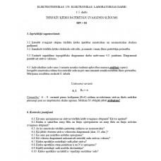 1-5. darbs TRĪSFĀŽU ĶĒDES PATĒRĒTĀJU ZVAIGZNES SLĒGUMS, sagatavošanās - atbildes uz kontroljautājumiem un 1. lapas aizpildīšana, MN = 81