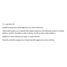 C++, operators for