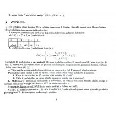 2. mājas darbs Varbūtību teorija