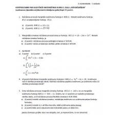 3. kontroldarbs C variants