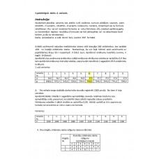 Statistika ekonomistiem II, Statistiskās  izlases  un statistiskās  hipotēzes , 1. patstāvīgais  darbs. 6. variants.