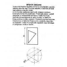 BTG131. GD2. 010 prizmas rasējums