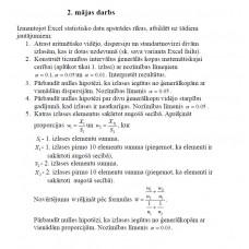 13. variants, proporciju varbūtība