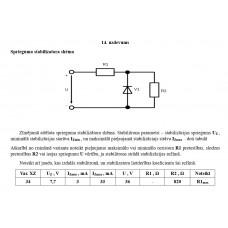 14. uzdevums, Sprieguma stabilizatora shēma