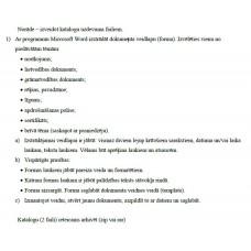 Dokumentu veidlapu katalogs