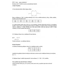 Eksāmena darbs Varbūtību teorijā un matemātiskajā statistikā