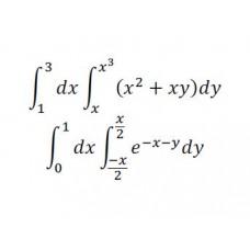 Divkāršie integrāļi, 20-21-25