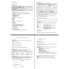 Dabaszinības  1. semestra pārbaudes darbs 12. klase