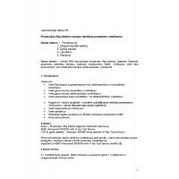 Radiācijas drošība medicīnā, Rentgeniekārtas lampas darbības parametru noteikšana, atskaite