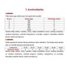 1. kontroldarbs