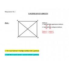 Loģika, Mājasdarbs Nr. 2, loģiskais kvadrāts