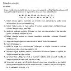 1.mājas darbs matemātikā.   16. variants.
