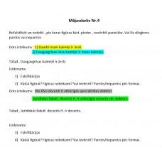 Loģika, Mājasdarbs Nr. 4, falsificēšana