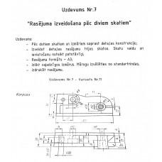 AutoCAD, uzdevums Nr.7, 11. variants
