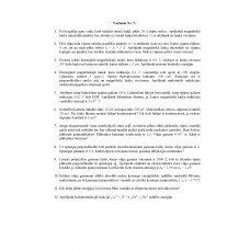 Fizika, neklātiene, , 7. variants