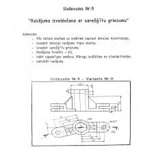 AutoCAD, uzdevums Nr.9, 11. variants